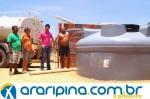 Ipubi promove abastecimento de água na Zona Rural
