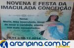 Novena e Festa da Imaculada Conceição em Araripina