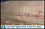 Pichações atacam gestão atual de Araripina