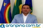 Luciano Capitão toma posse na sua segunda Gestão na Câmara de Vereadores de Araripina