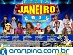 Festa de Janeiro deve atrair grande público à Ouricuri