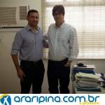 Luciano Capitão se encontra com Inspetor do Tribunal de Contas de Pernambuco.