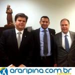 Em Brasília, Luciano Capitão cobra melhorias para a Araripina