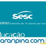 Sesc Araripina está com inscrições abertas para cursos de informática.