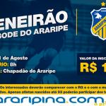 Araripina Futebol promove peneirão para novos atletas